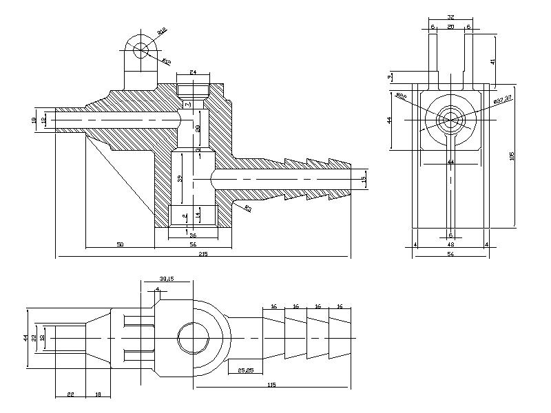 Mechanical Drawing on 3d engineering drawings