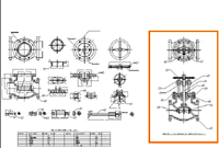 mechanical cad drawing drafting india