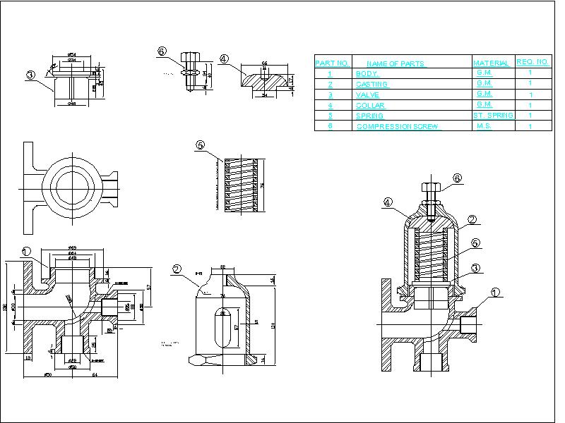 assembly drawing  shop drawing  fabrication drawing